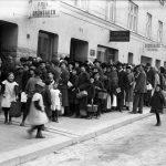 Potatiskö 1917 på Södermannagatan 44. Adressen motsvararas å